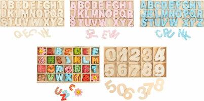 Buchstabenkästen