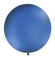 1m XXL Luftballon - Pastel Navy-Blau