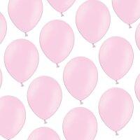100 Luftballons - Baby Rosa - 23 cm