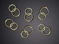 25 Hochzeitsringe - Gold