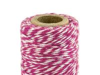 Bakers Twine - 50m - 1piece - dark pink