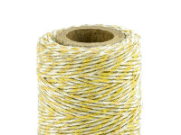 Bakers Twine - 50m - 1piece - yellow