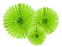 Deko Rosetten 3Stück grün