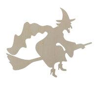 Halloween Hexe - 30x25 cm - Typ1 - Tür- oder...