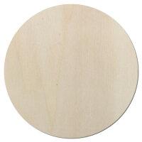 Kreis als Sonne aus Holz als Wanddeko oder Türdeko...