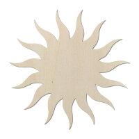 Sonne Typ1 aus Holz als Wanddeko oder Türdeko zum...