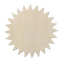 Sonne Typ2 aus Holz als Wanddeko oder Türdeko zum...