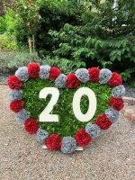 Deko Zahlen - Geburtstagsdeko 20 Geburtstag aus Holz - Geschenkideen & Tischdeko